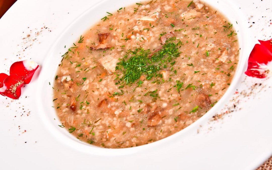 Seljačka supa sa heljdom
